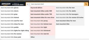 keyword research with amz search expander