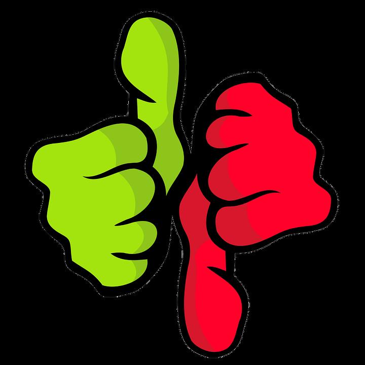 selecting thumbs
